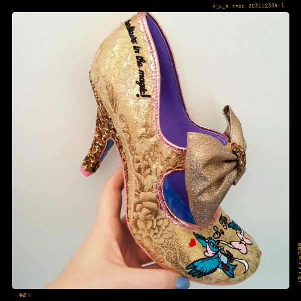 irregular choice so this is love cinderella shoe