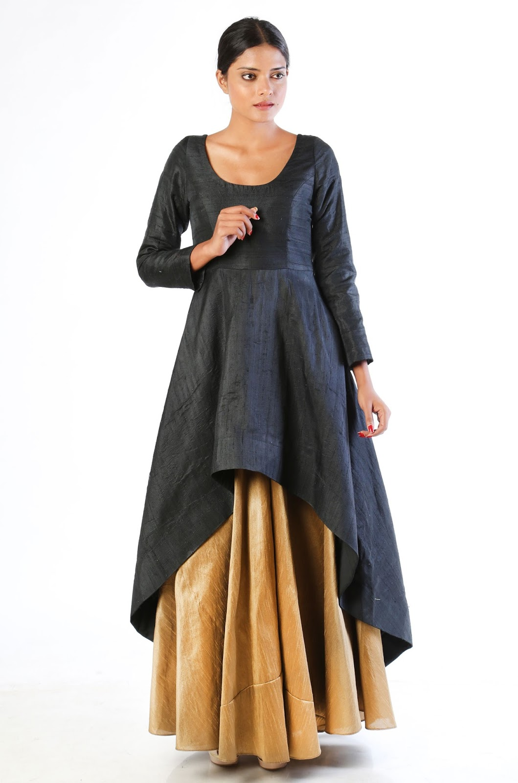 d5fe787aaea1 15 Best Long And Short Kurtis for Skirts In India Styles