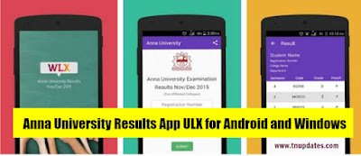 Anna University Results App ULX for Android