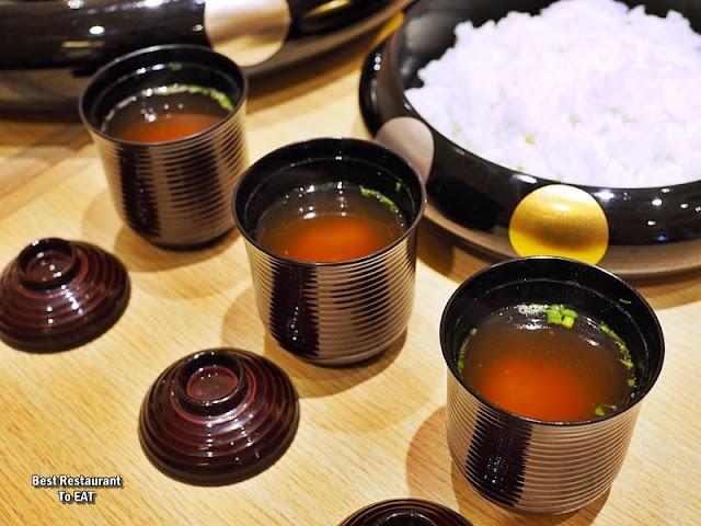 Make Your Own Sushi Menu - Miso Soup