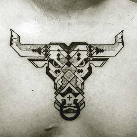 7da35f0eeecf7 Top 45 Taurus Tattoos Designs And Ideas For Men And Women
