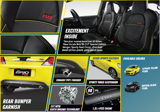 Brio RS CVT Limited Edition