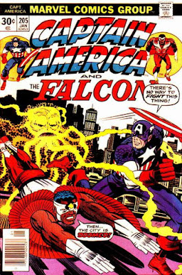 Captain America and the Falcon #205