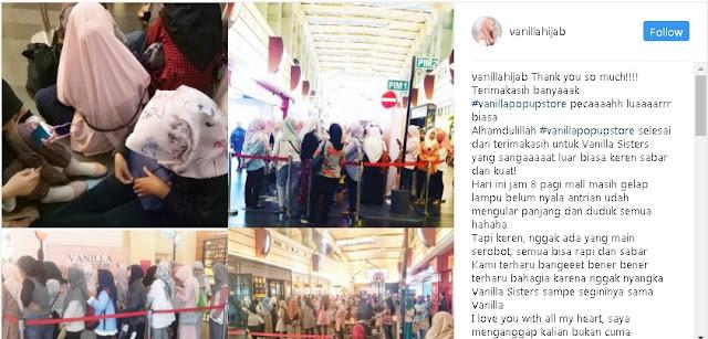 Rahasia Instagram Marketing ala Vanilla Hijab, Pelopor Online Shop Hijab Warna Pastel