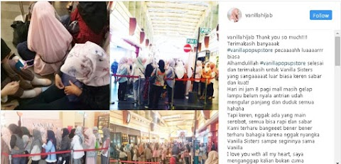Rahasia Instagram Marketing ala Vanilla Hijab, Pelopor Online Shop Hijab Warna Pastel