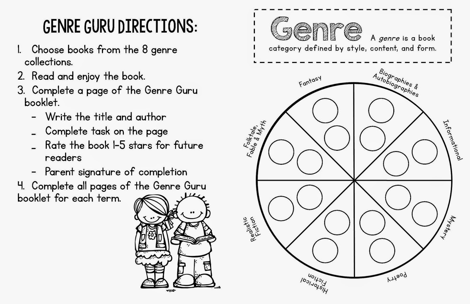 Genre Worksheet Times