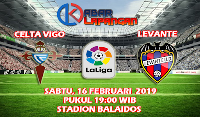 Prediksi Bola Celta Vigo vs Levante 16 Februari 2019