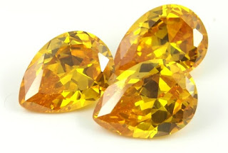 CZ-Golden-Yellow-4x6mm-Pear-Shaped-Gemstones-Suppliers-China
