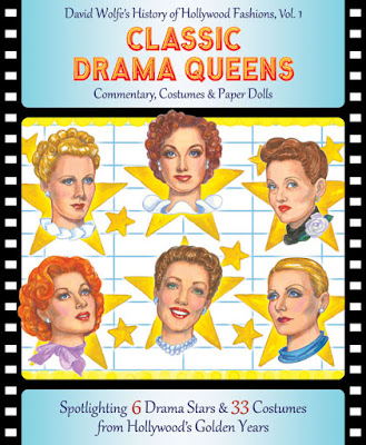 Classic Hollywood Drama Queens Paper Dolls
