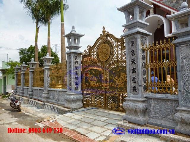 Cổng Nhôm Đúc Vĩnh Cửu