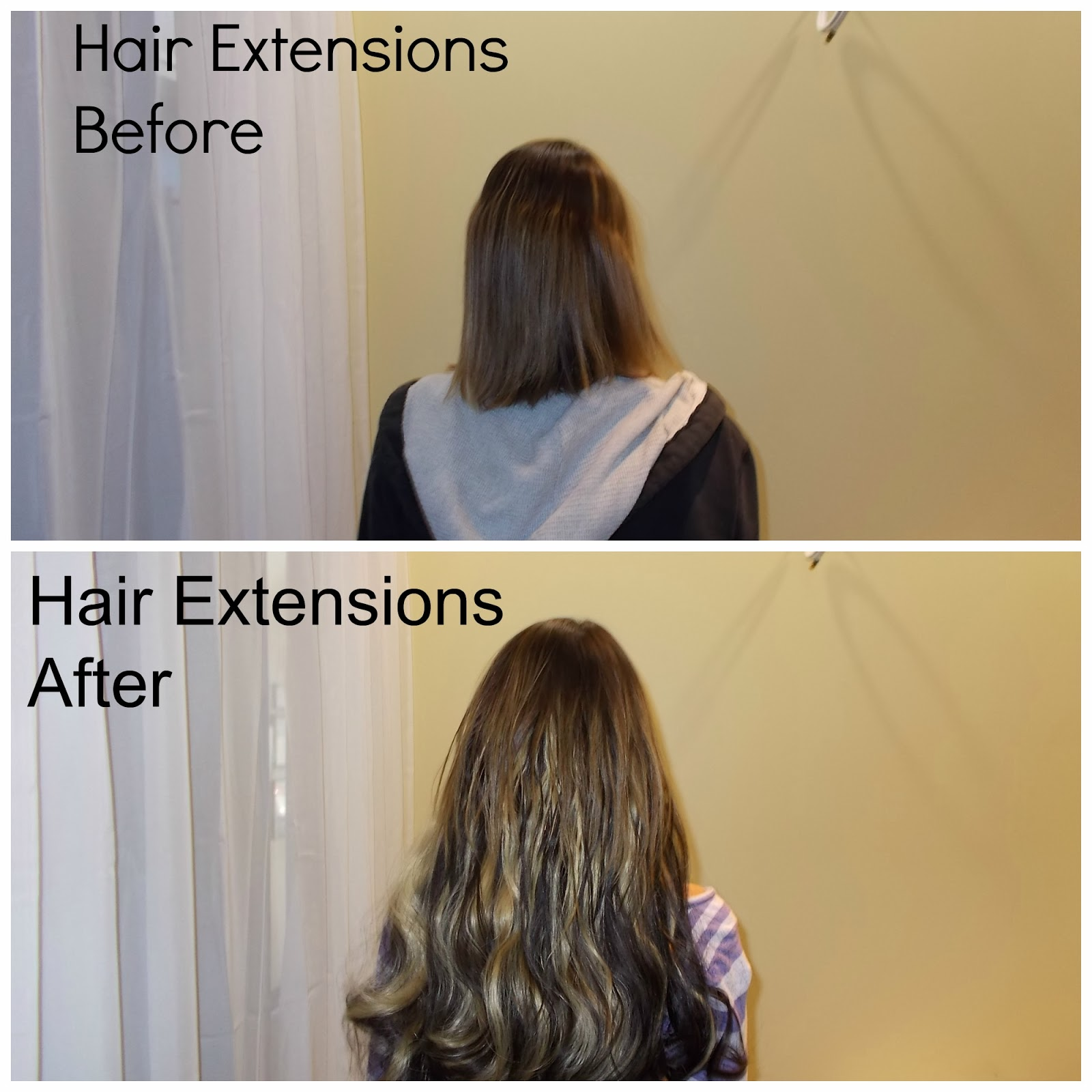 Hair extensions clip in vs permanent