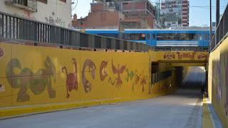 Vecinos de Saavedra en contra del paso bajo nivel de Balbín
