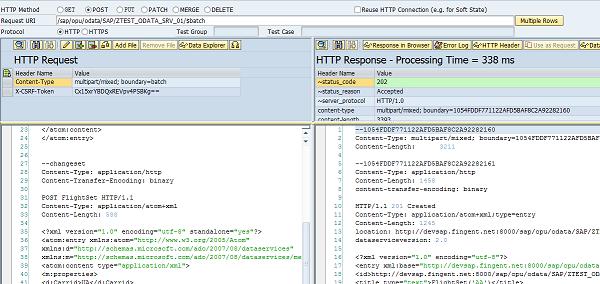 OData $batch processing in SAP Gateway Service - SAP ABAP,SAPUI5,SAP