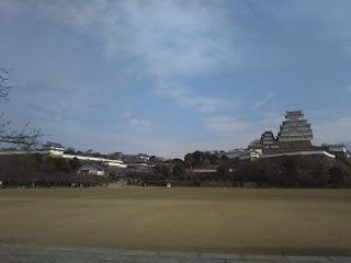 姫路に行って来た。春休みで息子も一緒に...。