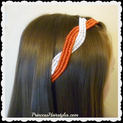 4th of July Hairstyle Tutorial. Infinity Braid Ribbon Twist. #fourthofjuly