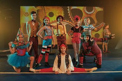 Personagens de Big Top Academy - Divulgação