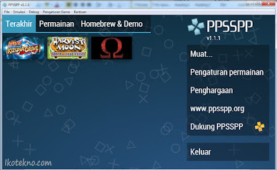 cara main game psp di komputer