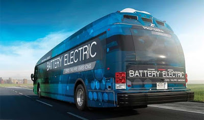 L'autobús elèctric de Proterra recorre 1.772 quilòmetres amb una sola càrrega