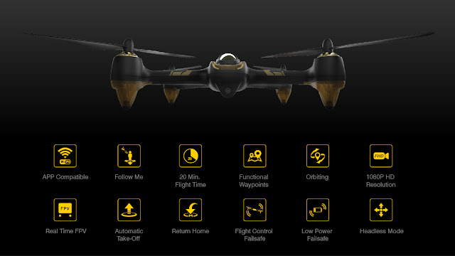 H501A X4 Air Features