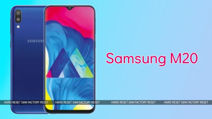 Hard Reset dan Factory Reset Samsung Galaxy M10