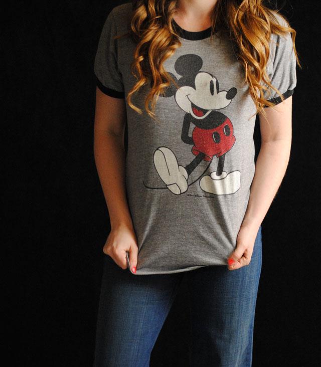 Vintage Mickey Tee 75
