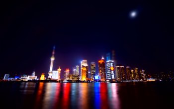 Wallpaper: Shanghai Nights
