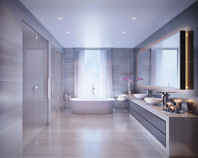Những điều cần lưu ý khi thiết kế nội thất phòng tắm theo phong thủy 2