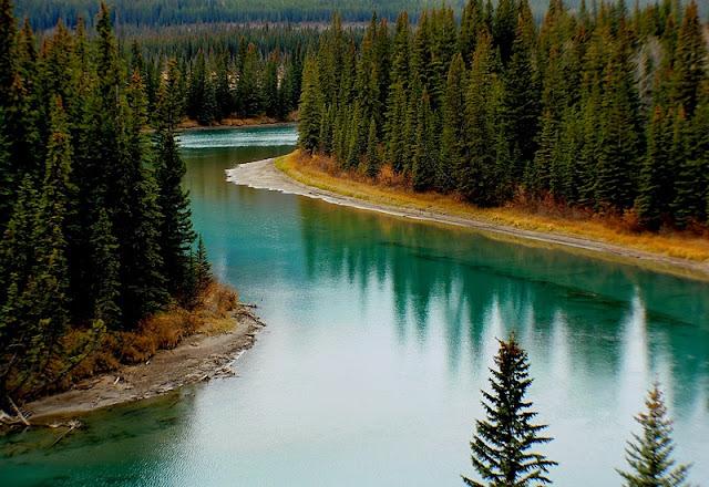 River at Banff