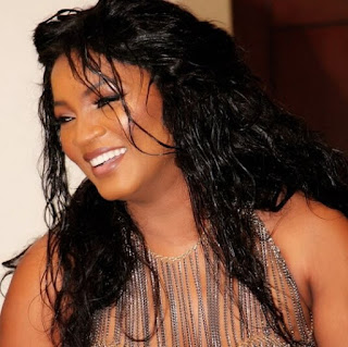 Beautiful black women Omotola Jalade
