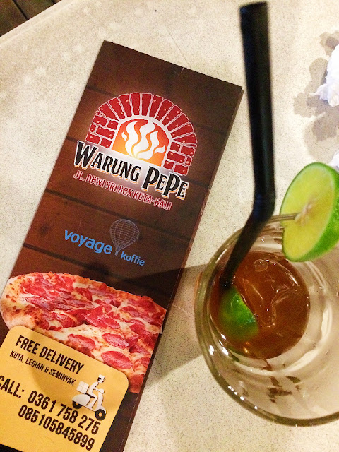warung pepe wood fired pizza kuta