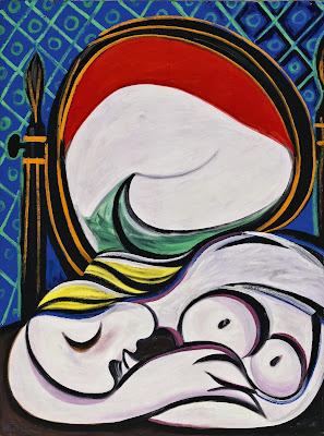 Picasso - Le miroir,1932.