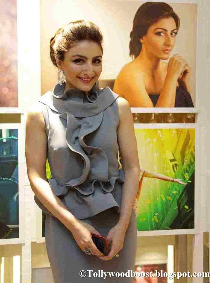 Soha Ali Khan Stills At Spirit of the Zoya Woman Photo Exhibition