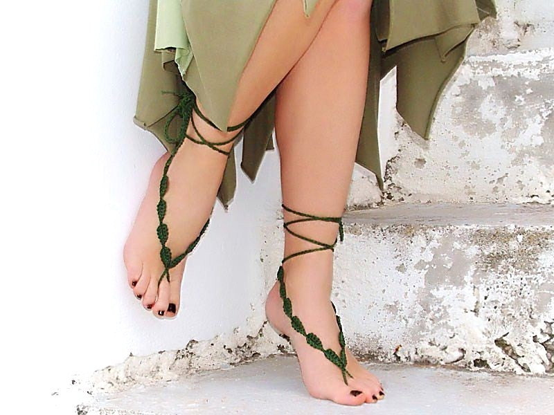 Shoes With Leaves At The Toes