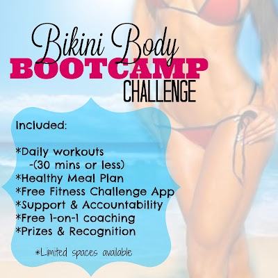 Lose Weight, Get Healthy & Be Bikini Ready This Summer: Bikini Body Bootcamp Challenge