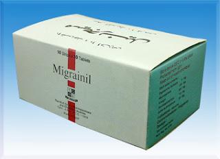 Migranil tablets - Ergotamine Tartarate