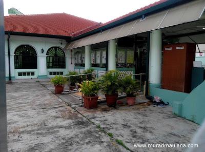 Sisi Kiri  Masjid Jamae (Chulia)