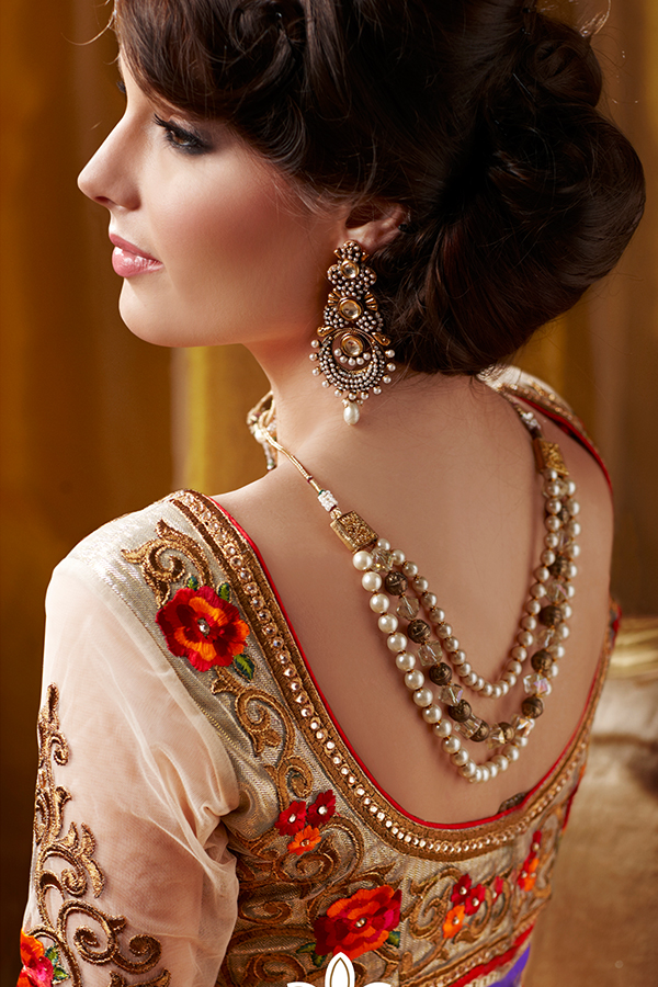 Image result for blouse designs wearing bollywood latest october 2017