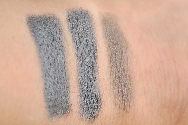 Alverde Schminkstift 10 weiss Kunterbunte Farbwelt LE vs. Nyx Alterra 02 grey