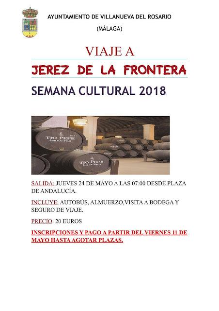 Viaje a Jerez de la Frontera desde Villanueva del Rosario