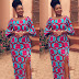 Creative And Super Stylish Ankara Style Gown For Pretty Divas