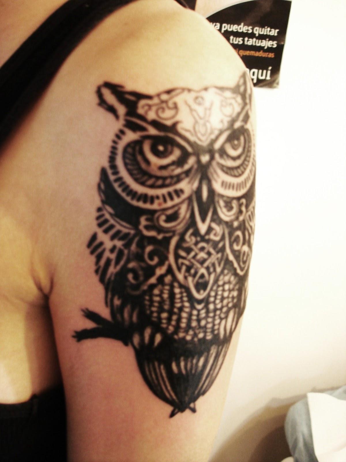 Toop Tattoo: Buho Tattoo