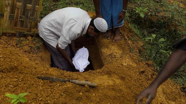 Líder de Ansarolá: EEUU e Israel apoyan genocidio de rohingyas