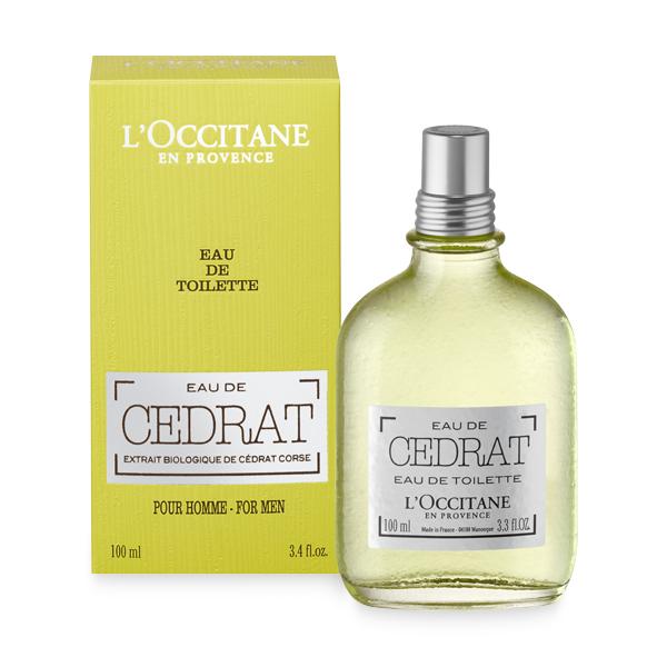L'Occitane's Cedrat Eau de Toilette for Men
