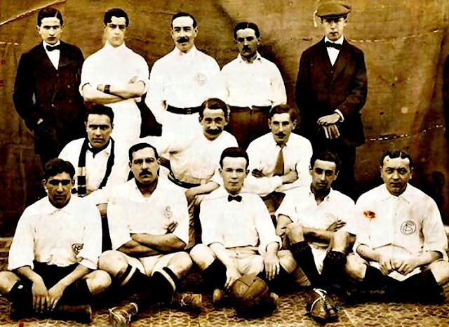 FOTOS HISTORICAS O CHULAS  DE FUTBOL Sevilla%2B1908%2B1909