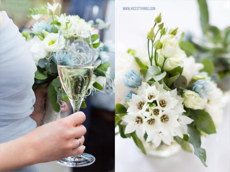 Tischdeko Ideen Hochzeit Blaugrau Sukkulenten
