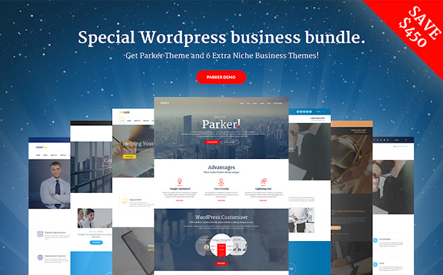 Business Centre WordPress Theme Bundle
