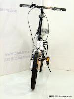 2 Sepeda Lipat ELEMENT DASH 7 Speed Shimano 16 Inci