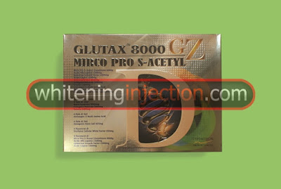Glutax 8000 GZ Micro Pro S-Acetyl, Glutax 8000 GZ, Glutax 8000GZ Murah, harga Glutax 8000 GZ, Suntik Putih Glutax 8000 GZ, Glutax 8000 GZ Injection, Whitening Injection Glutax
