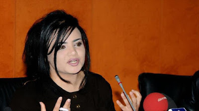 La cineasta tunecina Iman Bin Husein.