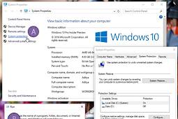 Cara Memakai System Restore Windows 10